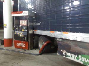 Truck turns 1